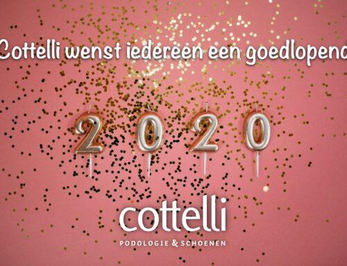 Cottelli wenst iedereen een goed lopend 2020!